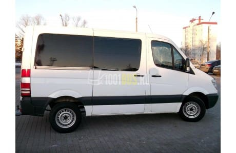 Аренда Минивэн Mercedes-Benz Sprinter - фото сбоку