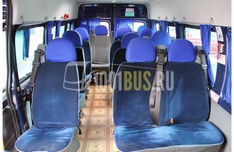 Аренда Микроавтобус Ford Transit - фото сбоку