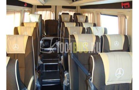 Аренда Микроавтобус Mercedes Sprinter 515 (695) - фото сбоку