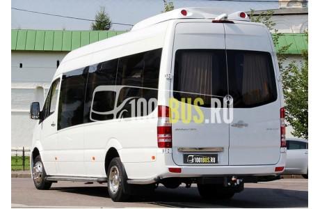 Аренда Микроавтобус Mercedes Sprinter 515 VIP (512) - фото сбоку