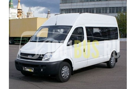 Аренда Микроавтобус Maxus Trumpf Junior - фото сбоку