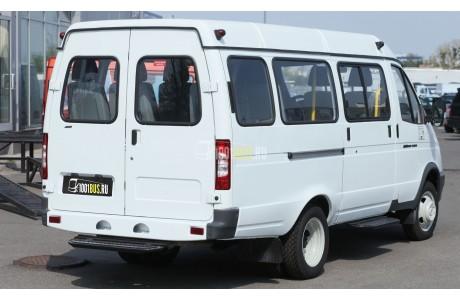 Аренда Микроавтобус ГАЗ-322132 «Газель» - фото сбоку