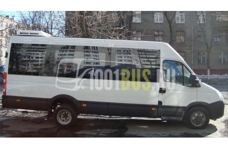 Заказ Микроавтобус Iveco Deily - фото автомобиля