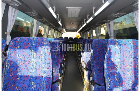 Аренда Автобус Scania  - фото сбоку