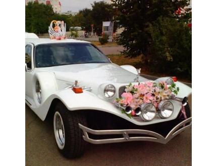 Организация свадебного кортежа недорого - легко.