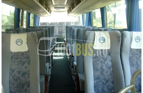 Аренда Автобус Golden Dragon Grand Cruiser - фото сбоку