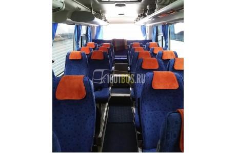 Аренда Автобус HIGER (416) - фото сбоку