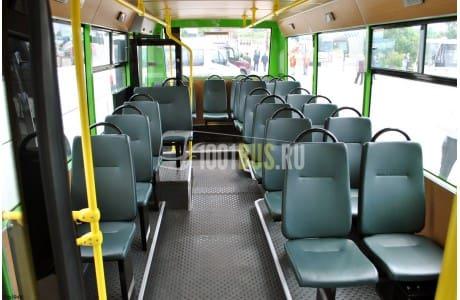 Аренда Автобус Isuzu Bogdan - фото сбоку