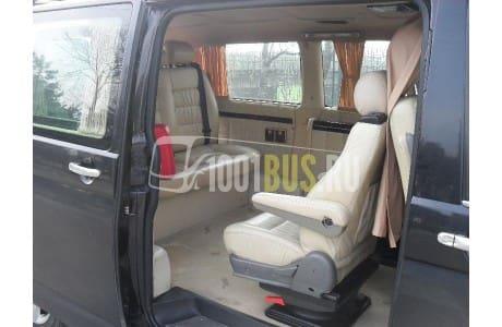 Аренда Минивэн Volkswagen Transporter Vip - фото сбоку