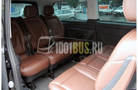 Аренда Минивэн Mercedes-Benz V-Class - фото сбоку