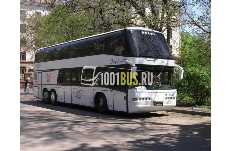 Аренда Автобус Neoplan 122 - фото сбоку