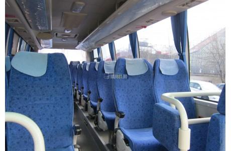 Аренда Автобус HIGER (115) - фото сбоку