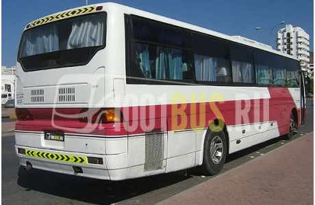 Аренда Автобус Hyundai Aero Queen - фото сбоку