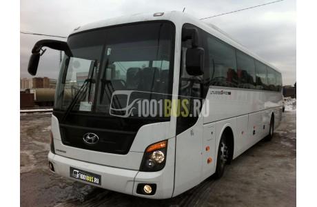 Аренда Автобус Hyundai Universe - фото сбоку