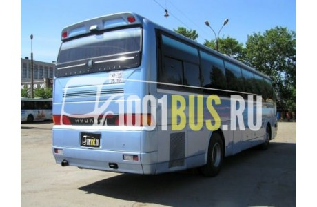 Аренда Автобус Hyundai Aero Express - фото сбоку