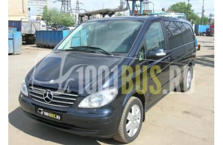Аренда Минивэн Mercedes-Benz Viano - фото сбоку