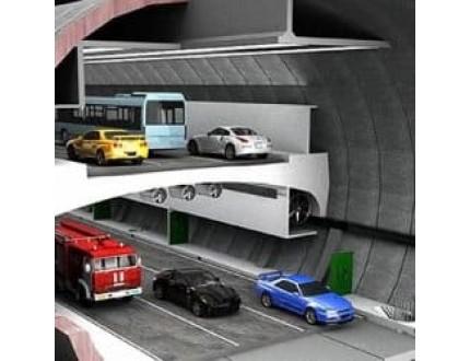Первый в Москве тоннель винчестерного типа