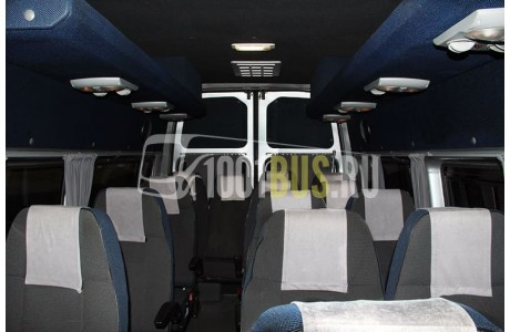 Заказ Микроавтобус Ford Transit (698) - фото автомобиля