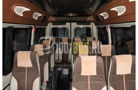 Аренда Микроавтобус Mercedes Sprinter 515 (715) - фото сбоку