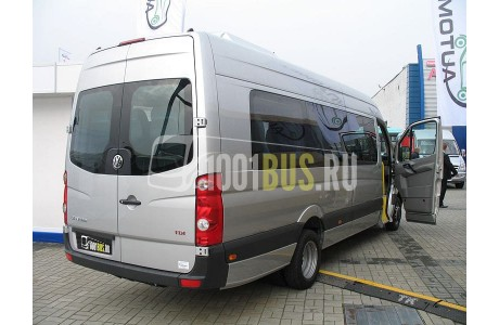 Аренда Микроавтобус Volkswagen Crafter - фото сбоку