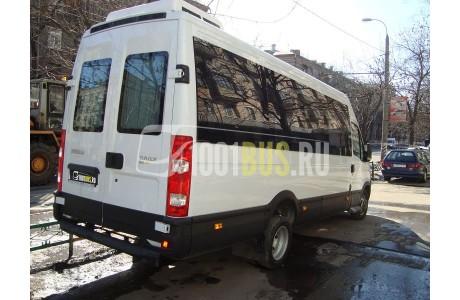 Аренда Микроавтобус Iveco Deily - фото сбоку