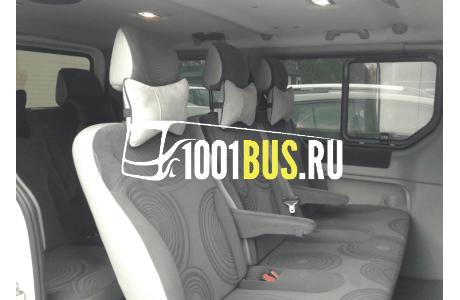 Заказ Микроавтобус Renault Trafic - фото автомобиля