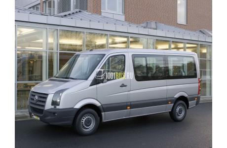 Аренда Микроавтобус Volkswagen Crafter Kombi - фото сбоку