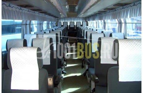 Аренда Автобус Kia Granbird - фото сбоку