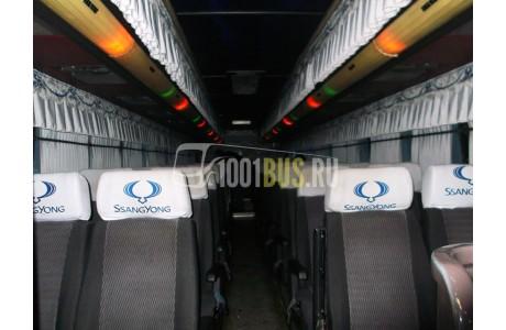 Аренда Автобус SsangYong Transstar - фото сбоку