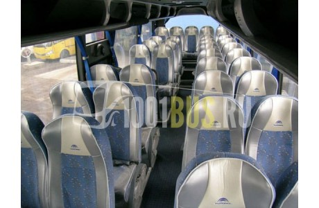 Аренда Автобус Yutong ZK - фото сбоку