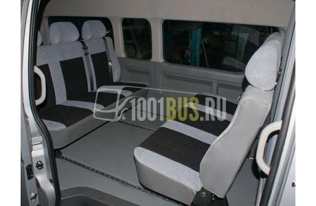Аренда Микроавтобус Toyota Hiace - фото сбоку