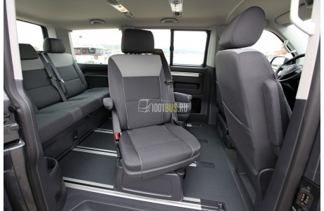 Аренда Минивэн Volkswagen Multivan T5 - фото сбоку