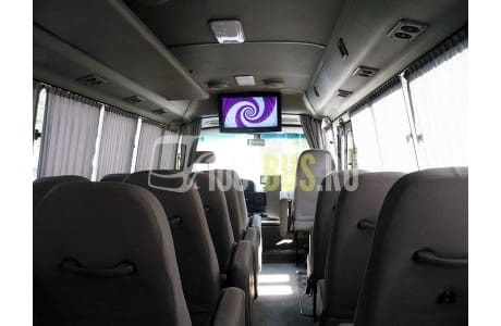 Заказ Автобус Toyota Coaster (351) - фото автомобиля