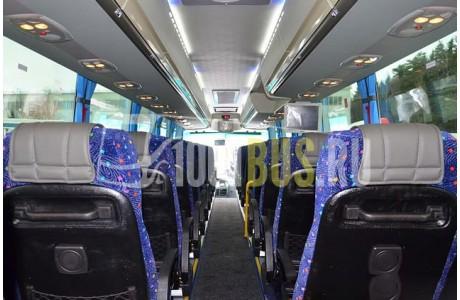 Аренда Автобус Scania Higer A80 - фото сбоку