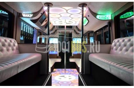 Аренда Автобус HIGER 6129 (755) - фото сбоку