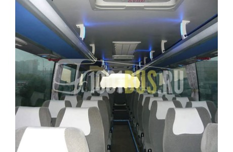 Аренда Автобус HIGER 6129 (565) - фото сбоку