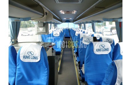 Аренда Автобус King Long (025) - фото сбоку