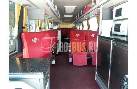 Аренда Автобус King Long KLG6129G VIP - фото сбоку